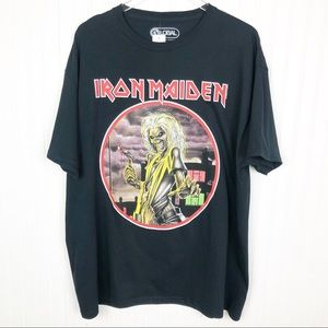 Iron Maiden Graphic Band Tee Size XL